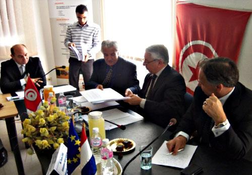 Signature Convention de Coopération_CTNCI_CCI Centre-12_04_2012